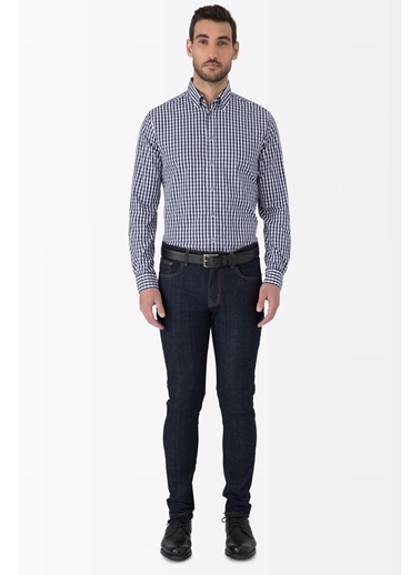 Slim Fit Denim Pantolon-Hemington
